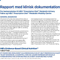Klinisk Evidensrapport – Metabolic Plus Mobility /Urinary